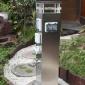 指印 房车营地水电桩 游艇码头供水供电 防水插座水电桩 定制
